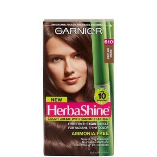 Garnier Nutrisse Herba Shine Hair Color Creme with Bamboo Extract
