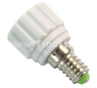 E14 to GU10 Halogen LED Light Lamp Bulbs Adapter Converter   Tmart
