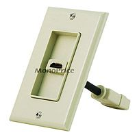 Product Image for Two Piece Inset Wall Plate with 4 Inch Built in