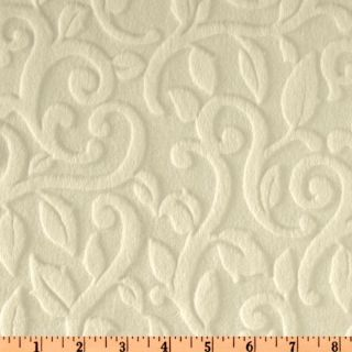 Minky Embossed Fabric   Discount Designer Fabric   Fabric
