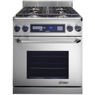 Dacor Discovery 30 Freestanding Dual Fuel Range   Natural Gas