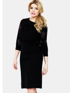 Holly Willoughby Print Sleeve Dress  Littlewoods