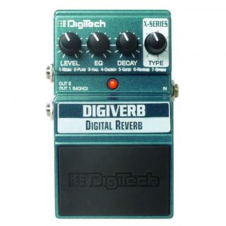 DigiTech® DigiVerb® Stompbox Effects Pedal  Maplin Electronics