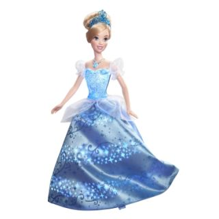 Disney Princess Cinderella Swirling Lights Doll   Shop.Mattel