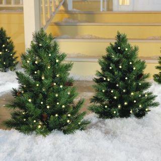 Pre Lit Christmas Tree at Brookstone—Buy Now