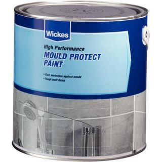 Mould Protect Matt Emulsion Paint 2.5L   Bathroom Paint   Paint