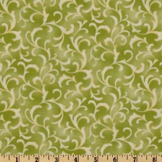 Moda Coquette Scroll Spring   Discount Designer Fabric   Fabric