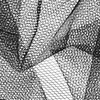 Nylon Net Black   Discount Designer Fabric   Fabric
