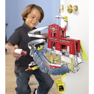 MATCHBOX® CLIFF HANGERS® Fire Station   Shop.Mattel