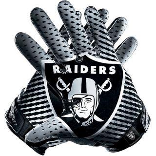 Oakland Raiders Winter Gloves Mens Nike Oakland Raiders Vapor Jet 2.0