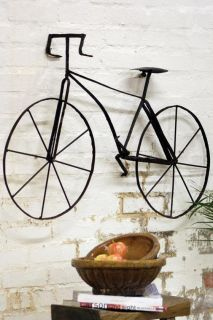 Bicycle Wall Sculpture   Wall Sculptures   Wall Art   Home Decor