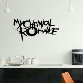 LARGE MY CHEMICAL ROMANCE EMO BEDROOM WALL MURAL ART STICKER GRAPHIC