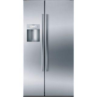 Bosch Linea 21.7 cu. ft. Side By Side Counter Depth Refrigerator