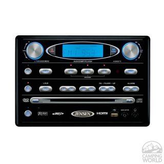 Jensen Awm910 12v Rv Wall Mount Cd Player With Am Fm Radio