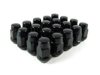 Gorilla Black Chrome Lugnut Lug Nut Wheel Rim C4 C5 C6 Z06 ZO6 ZR1 GS