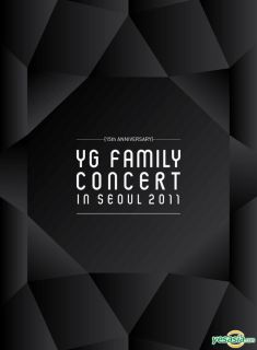 15th Anniversary 2011 YG Family Concert Live (3DVD + Photobook