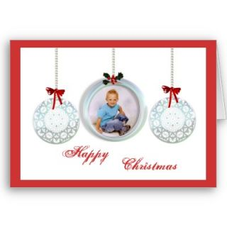 Personalised Photo Christmas Cards Template