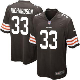 Mens Nike Game Jerseys Mens Nike Cleveland Browns Trent Richardson