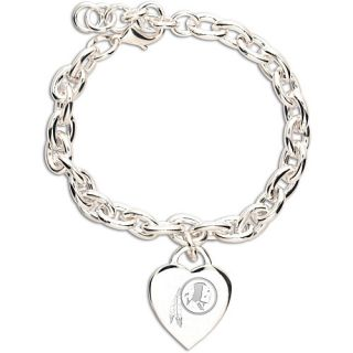Wincraft Washington Redskins Team Logo Heart Charm Bracelet