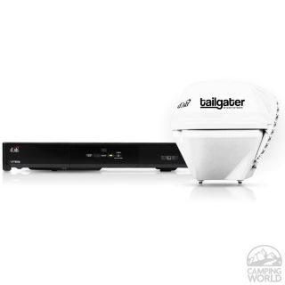 Tailgater Satellite Antenna and DISH Solo ViP211k HD Satellite