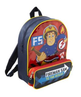 Fireman Sam Backpack with Pencil Case   bags   Mothercare
