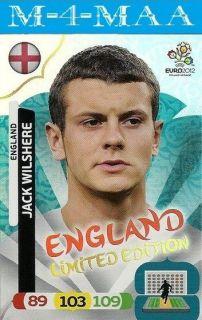 New Adrenalyn XL UEFA EURO 2012 JACK WILSHERE Limited Edition PANINI