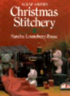 Scrap Savers Christmas Stitchery by Sandra Lounsbury Foose 1986