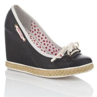See by Chloé Black/White Wedge Shoes