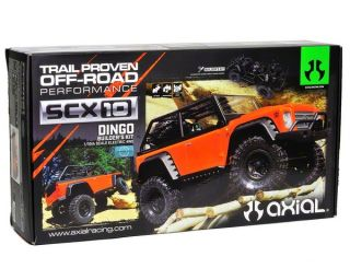 Axial SCX10 Dingo 1/10th 4WD Electric Rock Crawler Builders Kit