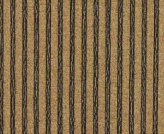 Weight Fabric / Stripe Fabric / Black and Gold Stripe Drapery Fabric