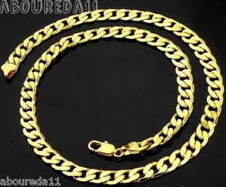 mens gold necklaces in Mens Jewelry