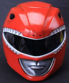 MIGHTY MORPHIN POWER RANGERS RED POWER RANGER HELMET COSTUME