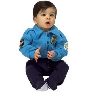 Halloween Costumes Jr. Police Officer Suit Infant Costume