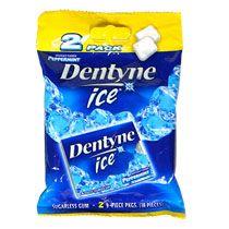 Bulk Dentyne Ice Peppermint Sugarless Gum, 2 Pack Bags at DollarTree