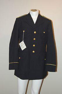 NEW Military $189 Army Dress Blue Tunic Coat Class A 40L