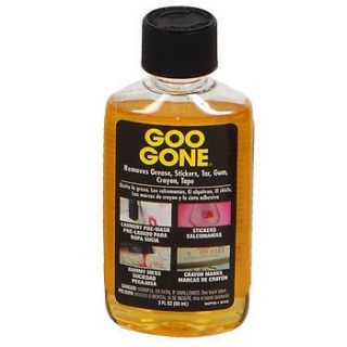 Bottles of 3 oz Goo Gone adhesive remover cleaner citrus grease gum
