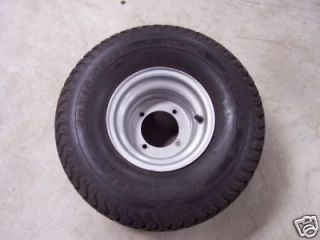 Rear Superturf Tire & Rim for GX 150 Yerf Dog Spiderbox Go Kart 4/110