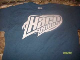 Haro T Shirt bike frame bmx master sport freestyle new freestyler fork
