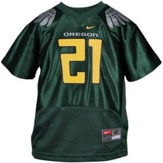 Nike Oregon Ducks #21 Toddler Alternate Replica Jersey   Green