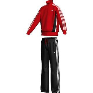 Adidas Kinder Trainingsanzug Tiberio, rot/schwarz/weiß rot/schwarz