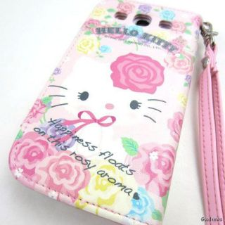New Hello Kitty Flip Wallet Leather Case Cover For Samsung Galaxy S 3