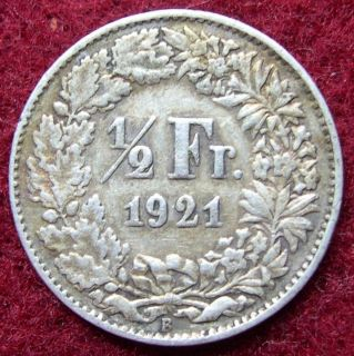 1886 B SWITZERLAND / HELVETIA 2 Francs GREAT SWISS Silver Coin