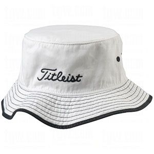 TITLEIST BUCKET HATS WHITE LG/XL