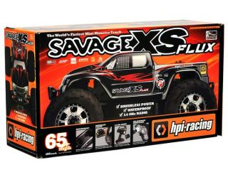 HPI Savage XS Flux RTR Micro Monster Truck w/2.4GHz Radio [HPI106571