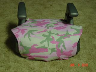 pink booster seat in Booster to 80lbs