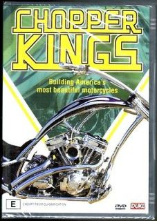 CHOPPER KINGS DVD NEWAMERICAN CHOPPER MOTORBIKE WESTCOAST BIKER