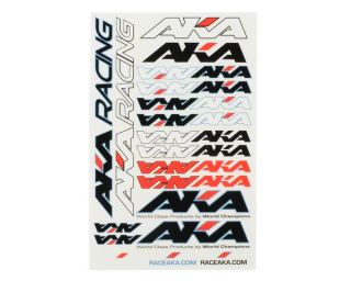AKA Racing Decal Sheet (Large) [AKA98201]  Stickers & Decals   A Main