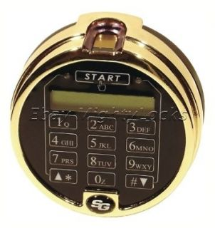 Sargent & Greenleaf S&G Biometric Fingerprint Keypad Lock Any Safe