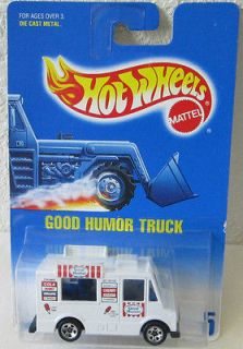 1991 Good Humor Ice Cream Truck Hot Wheels Collector #5
