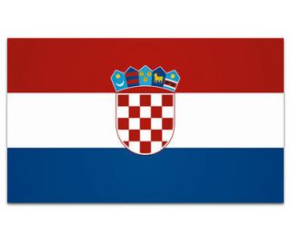 Croatia Flag Croatian Wall Art Decor Car Vinyl Window Bumper Sticker
